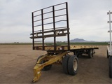 Pike T/A Flatbed Trailer,