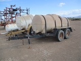 Towable T/A Water Tank Trailer,