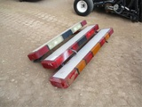 (3) Fire Truck Emergency Lights