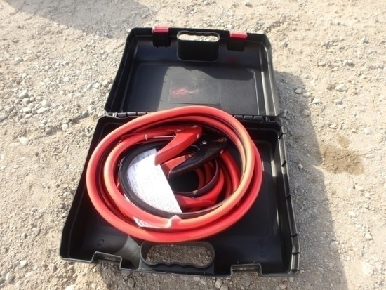 Unused 800 AMP Extra Heavy Duty Booster Cables,