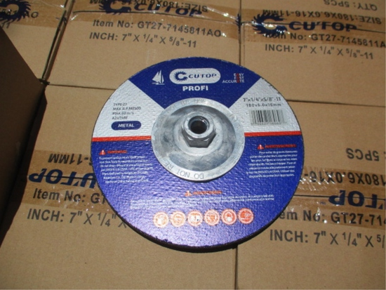"Lot Of Unused 7"" Grinding Discs,"