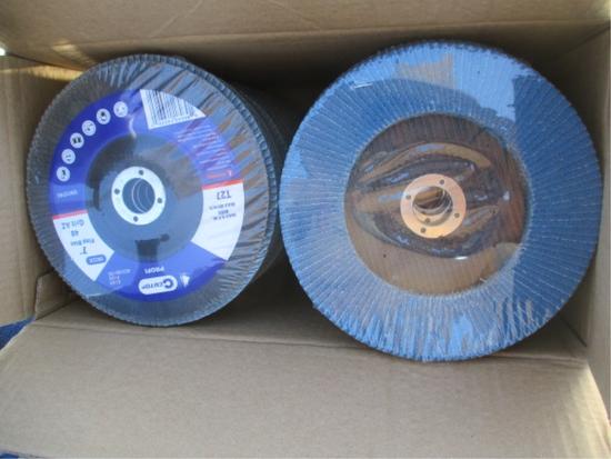 "Lot Of Unused 7"" Flap Discs,"