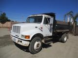 2000 International 4700 S/A Dump Truck,