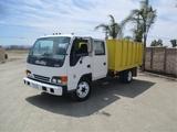2003 Isuzu NQR S/A Crew-Cab Debris Truck,