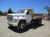 Ford F700 S/A Dump Truck,