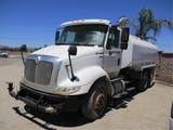 2011 International 8600 Transtar T/A Water Truck,