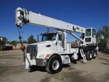 2008 Peterbilt 340 T/A Crane Truck,