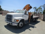 Ford F800 S/A Knuckle Boom Truck,