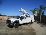 2008 Ford F450 Extended-Cab S/A Bucket Truck,