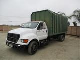 2001 Ford F650 S/A Chipper Dump Truck,