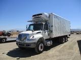 2018 International 4400 T/A Reefer Truck,
