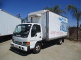 2004 Isuzu NPR HD S/A Reefer Truck,
