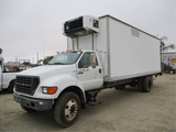 2001 Ford F650 S/A Reefer Truck,