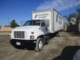 2001 GMC C6500 S/A Extended-Cab Van Truck,