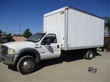 2006 Ford F550 S/A Van Truck,