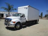 2007 Ford F650 S/A Van Truck,