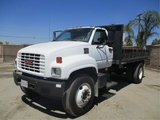 GMC C6500 S/A Flatbed Dump Truck,