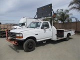 Ford F450 S/A Flatbed Truck,