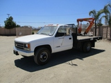Chevrolet 3500 S/A Flatbed Truck,