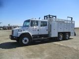 2002 Freightliner FL80 T/A Crew-Cab Utility Truck,