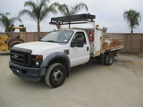 2008 Ford F550 XL S/A Utility Truck,