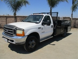 2001 Ford F550 Utility Truck,