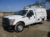 2013 Ford F350 XL SD Utility Truck,