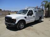 2008 Ford F350 SD Utility Truck,