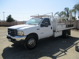 2002 Ford F450 Utility Truck,