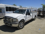 2005 Ford F350 Extended-Cab Utility Truck,