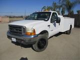 2000 Ford F450 Utility Truck,
