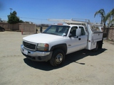 2006 Chevrolet 3500 Extended-Cab Utility Truck,