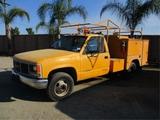 GMC 3500 Utility Truck,