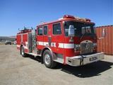 2000 KME S/A Fire Truck,