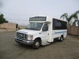 2013 Ford E450 Passenger Shuttle Bus,