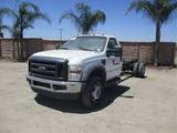 2009 Ford F550 S/A Cab & Chassis,