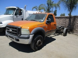 2007 Ford F550 S/A Cab & Chassis,