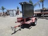 2011 National Signal S/A Towable Message Board,