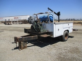 S/A Custom Made Utility Bed Trailer,