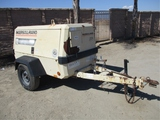 2000 Ingersoll-Rand P185W Towable Air Compressor,
