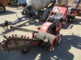 Barreto 1324D Walk-Behind Trencher,