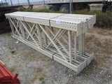 Lot Of Pallet Racking Uprights