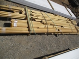 Lot Of Misc Size Wood Poles