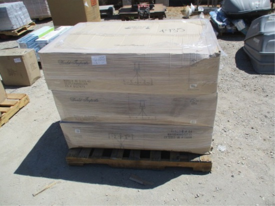 (3) Boxes Of 12 LTS Chandelier