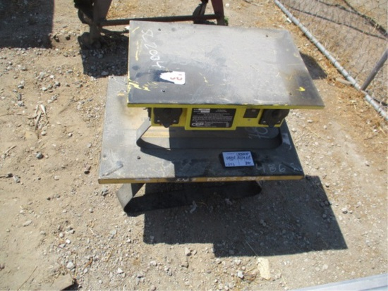 (2) Electric Jobsite Power Distribution Boxes,