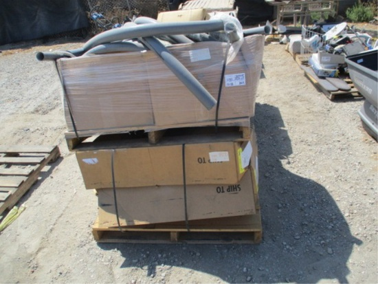 (3) Boxes Of Conduit & Fittings