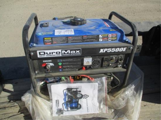 Duromax XP5500E Gas Generator W/Wheel Kit