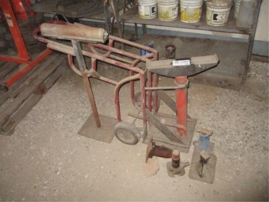 KYB Professional Hydraulic Axle Jack Dolly,