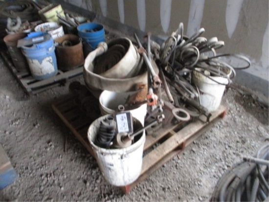 Lot Of Automotive Belts, Water Hoses & Clamps