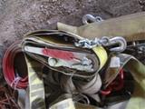 Pallet Of Ratchet Straps, Extension Cords,
